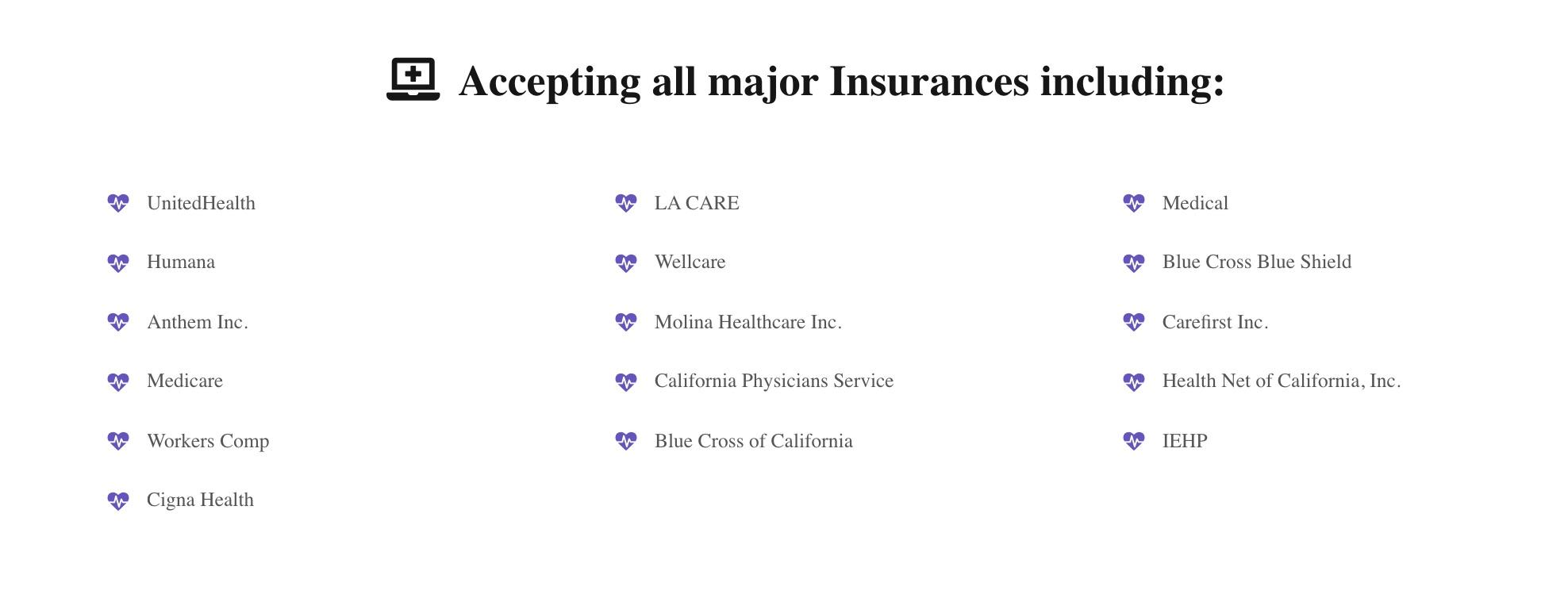 Health Insurance Tele Health